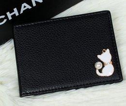 Sevimli kişilik ehliyet ehliyet ehliyet deri cüzdan olmayan deri sertifika çanta erkekler ve kadınlar