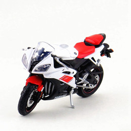 Wholesale Maisto Alloy Motorcycle Toy Scale Emulation Yzf r6 Motorbike Models Toys For Children Gifts