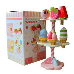 $enCountryForm.capitalKeyWord UK - Baby simulation play house toy magnetic ice cream wooden role playing kitchen children toys baby birthday Christmas gift