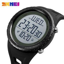 $enCountryForm.capitalKeyWord Australia - Skmei Outdoor Sport Watch Men Big Dial Simple Chronograph Shock Watches 5bar Waterproof Digital Watch Reloj Hombre 1310 T190709