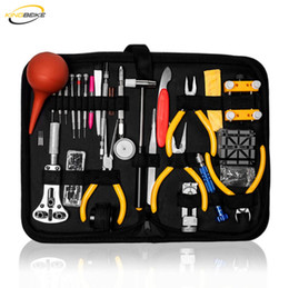 Discount professional watch repair tools kit KINGBEIKE Professional Watch Tools Set High Quality Watch Repair Tool Kit Watchmaker Dedicated Device Small Hammer Tweez