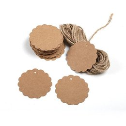 $enCountryForm.capitalKeyWord NZ - kraft price 100pcs lot Kraft Price For Clothing Flower Shape Hanging Tag Labels Gift Wedding Party Decor Scrapbooking Paper Tags