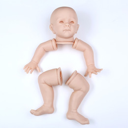 24 inches dolls NZ - New 60 cm 24 inch Silicone Reborn Doll Kits High-grade imported soft silicone doll kits Exquisite Toddler DIY Accessory for doll