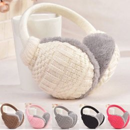 $enCountryForm.capitalKeyWord UK - Fashion Women's Girls Winter Warm Knitted Earmuffs Ear Warmers Ear Muffs Earlap