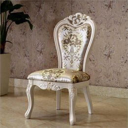 Room Chairs NZ - hot selling Antique Style Italian small table, 100% Solid Wood Italy Style Luxury chairs o1120