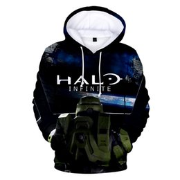halo games 2019 - New Game Halo 3D Hoodies Men women Fashion Harajuku High Quality Streetwear Halo 3D Print Men's Hoodies pullovers c