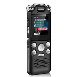 $enCountryForm.capitalKeyWord Australia - Lossless Portable Noise Reduction Dictaphone Digital Voice Recorder Two-way Microphone USB Charging Activated Multifunctional