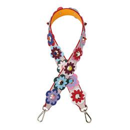 Band Belts NZ - Strapper You Leather Flower Bag Strap Belt Shoulder Bag Accessories Belts Long Handbag Band Replacement Strap For Handbag 164