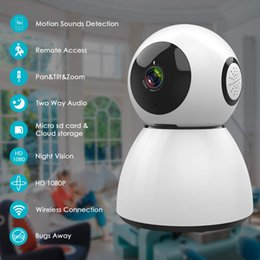 Wireless Pan Tilt Zoom Australia - Home Security Camera, HD1080P Indoor WiFi Wireless IP Camera Surveillance, Remote Pan Tilt Zoom Baby Monitor, Two-Way Audio,