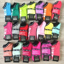 Großhandel Großhandel Rosa Schwarz Socken Erwachsene Multicolor Baumwolle Kurze Söckchen Outdoor Sports Basketball Cheerleader Socken für Mädchen Frauen