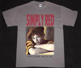 $enCountryForm.capitalKeyWord UK - SIMPLY RED PICTURE BOOK 85 MICK HUCKNALL POP SEAL SADE NEW GREY CHARCOAL T-SHIRT Men Women Unisex Fashion tshirt Free Shipping black