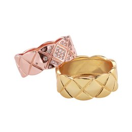 $enCountryForm.capitalKeyWord UK - 2019 Fashion Accessories Simple rose gold yellow female wide ring micro-encrusted mainstream European and American style
