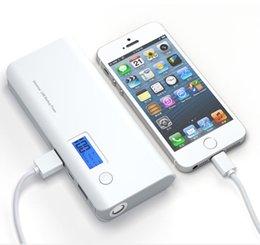Externes Bank-Unterstützungs-tragbares LCD-Ladegerät der Energie-50000mAh für das Telefon-Grau