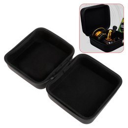 $enCountryForm.capitalKeyWord UK - Fishing Package Reel Storage Bag Portable Case Square Box PVC Leather Organizer Container Lure Baits Zipper Waterproof #359396