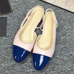$enCountryForm.capitalKeyWord Australia - High quality ladies leather fashion womens sandals 19 brand fashion design womens shoes high heel design flat casual shoes with original qo