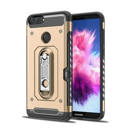 $enCountryForm.capitalKeyWord Australia - Creative Hummer Support Armor Mobile Shell with Stand for Cards FOR:Samsung A6 A7 A8 A9 A50 LG Q8 G8 HUAWEI mate10 lite