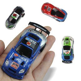 micro car racing NZ - Hot Selling Rc cars 16 colors Mini-Racer Remote Control rc car Coke Can Mini RC Radio Remote Control Micro Racing 1:63 Car