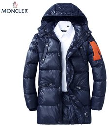 cotton brands NZ - hot sale mens Medium long cotton coat classic
