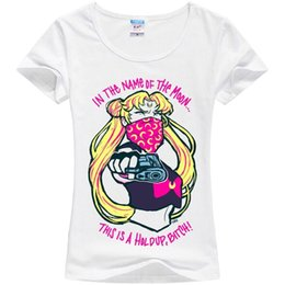 $enCountryForm.capitalKeyWord Canada - Kawaii Clothing Cute Ropa T-Shirt Sailor Moon Harajuku Anime Manga Gun Angry EmoFunny free shipping Unisex Casual Tshirt top
