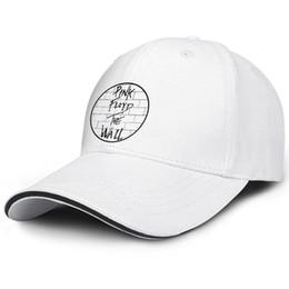 Vente en gros Hommes Femmes Rose-USA-Floyd-Folk-logo Casquette de camionneur de rock progressif rock Snapback Outdoor 100% Cotton Mesh Caps Bonnets incurvés pour la jeunesse