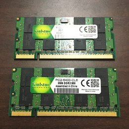 Used Quality Laptops Australia - RAMs Kinlstuo used rams DDR2 2 800MHz 667MHz laptop memroy sodimm ddr2 1 2gb cheap good quality