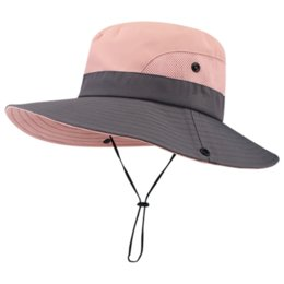 $enCountryForm.capitalKeyWord Australia - 2019 Safari Hats for Women Summer Sun Wide Brim UV UPF Ponytail Mesh Breathable Sun Shade Outdoor Hunting Fishing Hiking Hat