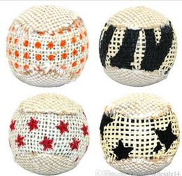 Pack Plays Australia - 4pcs pack Ball Cat Toy Interactive Cat Toys Play Chewing Rattle Scratch Catch Pet Kitten Cat Exrecise Toy Balls
