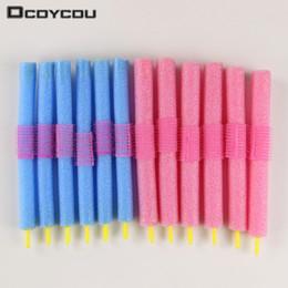 $enCountryForm.capitalKeyWord Australia - 12pcs set Soft Foam Anion Bendy Hair Accessory Curlers Cling Fashion Styling
