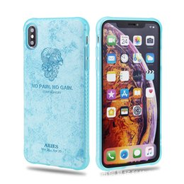 Discount skin sticker galaxy Constellation Skin Phone Case IPhone Xs Max Xr Soft Shell HUAWEI Mate20 Stickers Skin Tide Brand Tpu P20 Soft Shell
