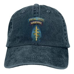 $enCountryForm.capitalKeyWord Australia - 2019 New Wholesale Baseball Caps US AIR Force Special Forces Airborne Mens Cotton Adjustable Washed Twill Baseball Cap Hat