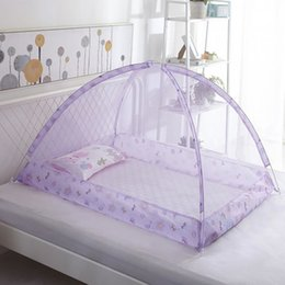 Wholesale Baby Bedding Crib Netting Folding Home Bed Bottomless Children's Mosquito Net Bed Net Baby Dome Free Installation SH190917