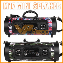 $enCountryForm.capitalKeyWord NZ - M17 Bluetooth Portable Speakers CH-M17 Wireless Speaker LED Colorful Light Barrel Microphone Outdoor Subwoofer Mini Sound Box