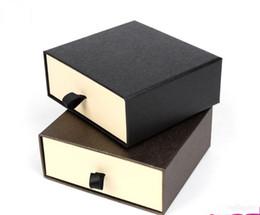 $enCountryForm.capitalKeyWord Australia - Men's Belt Storage Box For Men Women, 2 Color Drawer Style Belt Gift Packaging Box Organizer (Black Brown)
