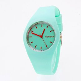 $enCountryForm.capitalKeyWord Australia - Watch Women Curren Relogio Masculino Relojes Para Hombre Korean Watch Men Fashion Leisure Ultra-thin Silicone Jelly Clock