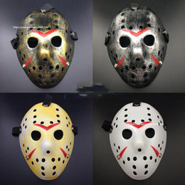 hockey masks Australia - Stylish Jason Voorhees Friday the 13th Horror Hockey Mask Scary Halloween Mask Party Masks
