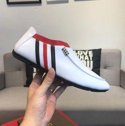 Designs Dress Australia - 2019 New Design Men's Dress shoes,Breathable casual Doug shoes,Men Flats Shoes Brand Designer Flats Shoes slip-on shoes