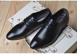 $enCountryForm.capitalKeyWord NZ - Super soft young male tip Korean version of casual leather shoes men business dress men's hair stylist tide shoes wedding shoes
