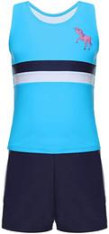 $enCountryForm.capitalKeyWord Australia - MAICO Kids Two Pieces Swimsuits Set Short Sleeves Swimwear Boys Girls Bathing Suit Rash Guard Sets UPF 50+ Swimming Beach Wear