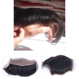 Tace de base en soie / perruques de cheveux pour les hommes haut prix perruque de perfermance des hommes de prix de dentelle suisse TKWIG en Solde