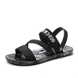 $enCountryForm.capitalKeyWord Australia - 25Outdoor sandals for men's slippers personality print Korean summer flip-flops for men's sandals slip-resistant fashion trend