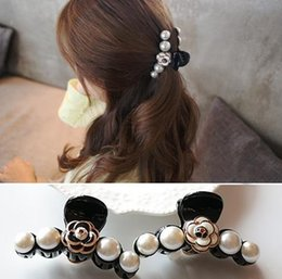 Pretty Hair For Australia - Hot sale ! NEW fashion C pearls Hair Claw for Ladys collection Item Fashion Hair Accessories pretty for updo style party gift for souvenirs