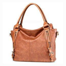 ladies big hand bags 2019 - Women Leather Handbags Lady Large Tote Bag Female PU Shoulder Bag Luxury Ladies Hand Bags Big Bolsa Feminina Sac A Main