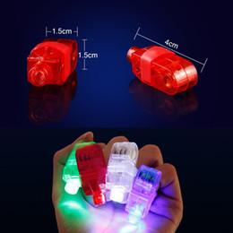 $enCountryForm.capitalKeyWord Australia - LED Lighted Toys LED Finger Ring Lights Glow Laser Finger Beams Party Flash Kid rave party glow Toys