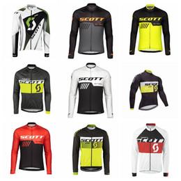 $enCountryForm.capitalKeyWord Australia - SCOTT team Cycling long Sleeves jersey mens tops New Hot Sale Top Brand Quality Bike Wear Comfortable riding clothes Q62023
