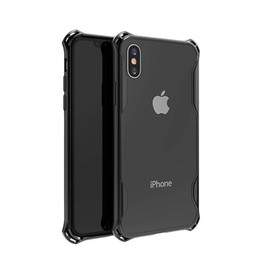Chinese  Transparent Acrylic TPU Frame+Plastics Back Hard Case Cover For iphone XS Max XS XR X8 8plus 7 7plus 6 6plus,cell phones,mobile phone manufacturers