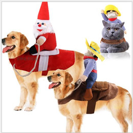free beds NZ - free shipping Wholesales Big dog clothes, pet supplies horse riding outfits Halloween funny cat clothes