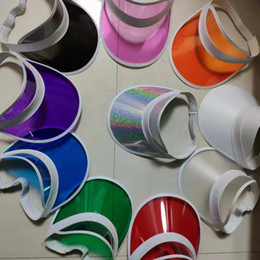 Sun Visor Hat Plastic Wholesale NZ - sun visor sunvisor party hat clear plastic  cap transparent acadf11db525