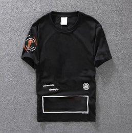 $enCountryForm.capitalKeyWord Australia - Casual T-shirt Mens Clothing Summer Designer Shirt Black White Orange Size S-XXL Cotton Blend Crew Neck Short Sleeve Cartoon Print