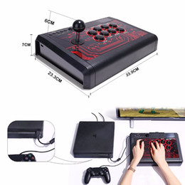 $enCountryForm.capitalKeyWord Australia - Hot sale Arcade Fight Stick Fighting Joystick for PS4  Slim  Pro  PS3  XBOX ONE S XBOX 360  PC  Android Switch free shipping
