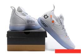 927a9b9e380 Orange kd basketball shOes online shopping - 2018 KD EP White Orange Foam  Pink Paranoid Oreo